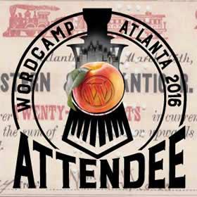 Wordcamp Atlanta 2016 logo