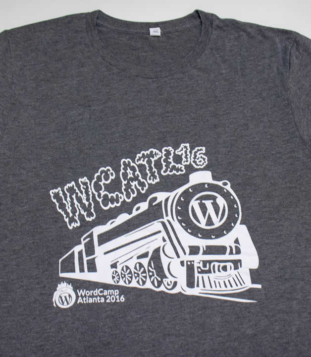 Atlanta Wordcamp 2016 t shirts