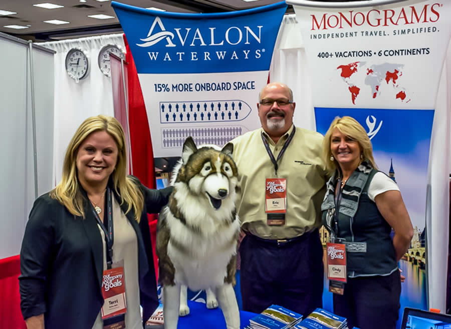 Avalon Waterways at Travel Leaders Convention