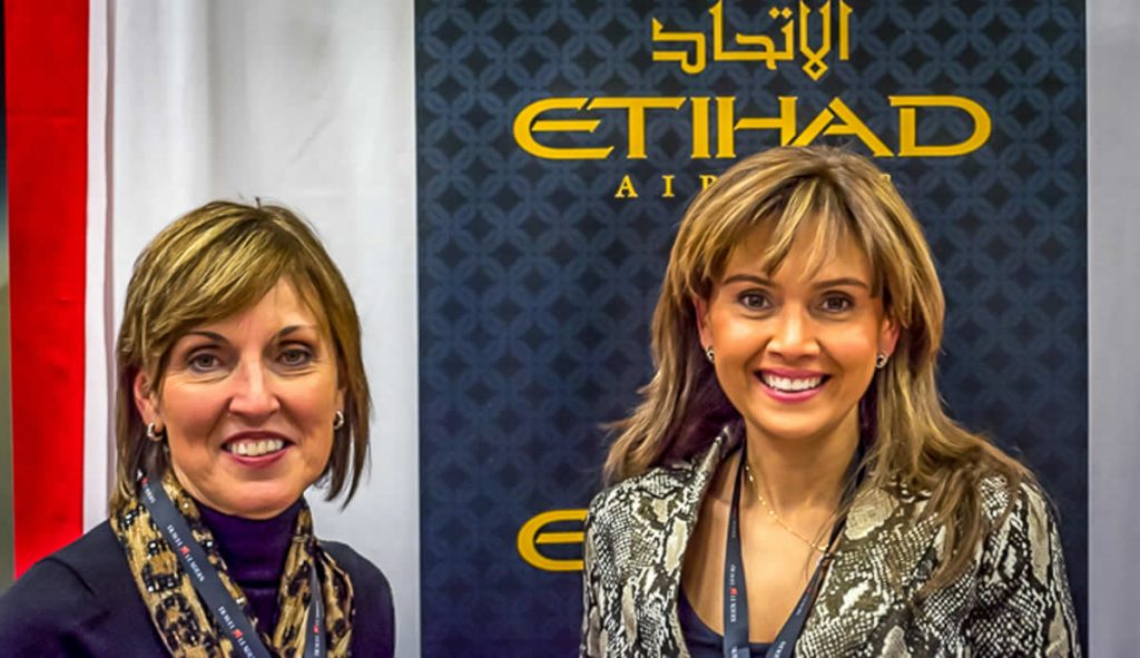 Etihad Airlines at Travel Leaders Convention