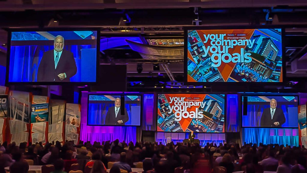 Roger Block at Travel Leaders Convention