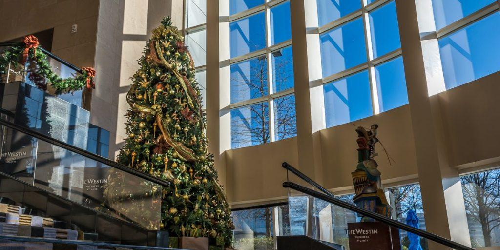 Westin Hotel Buckhead Christmas Tree