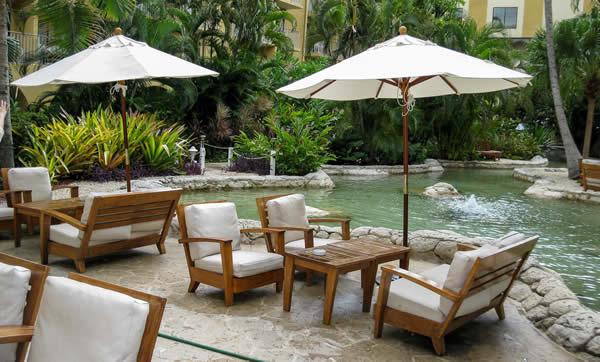 Marriott Grand Cayman patio