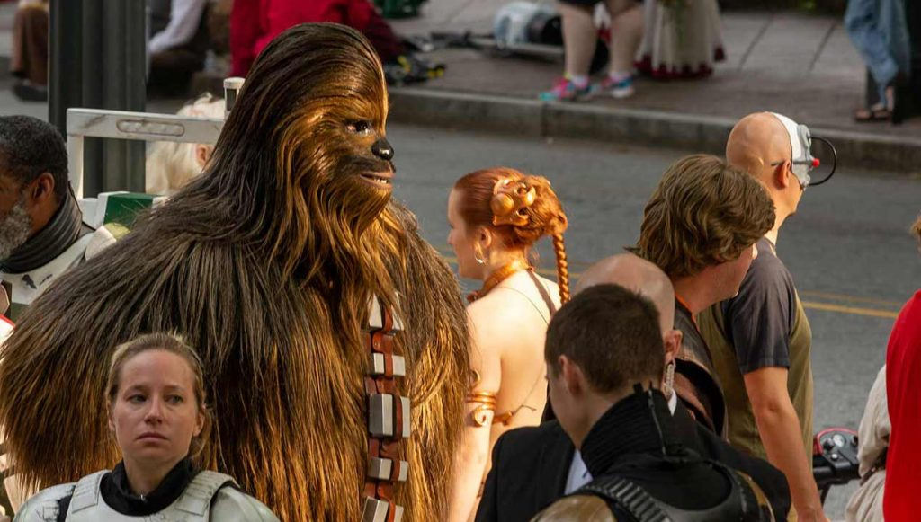 Chewbacca at Dragoncon