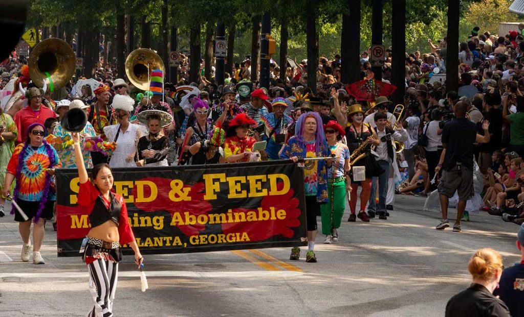 Feed and Seed Marching Abominables