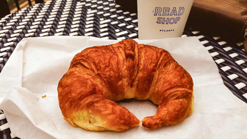 Croissant at Read Coffee Shop