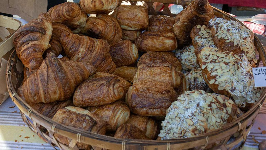 Croissants from Proof Bakeshop