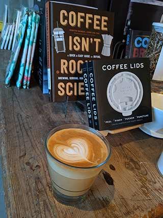 Espresso Art at Read Coffee Shop
