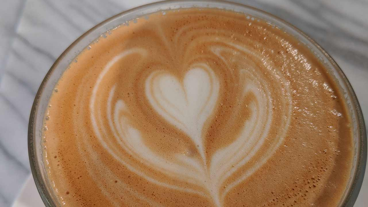 Coffee love at Read Coffee Shop