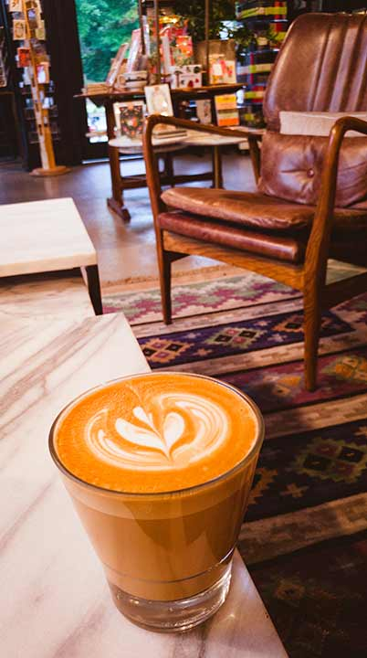 Coffee Art at Read Coffee Shop