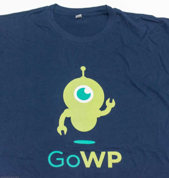 goWP t-shirt