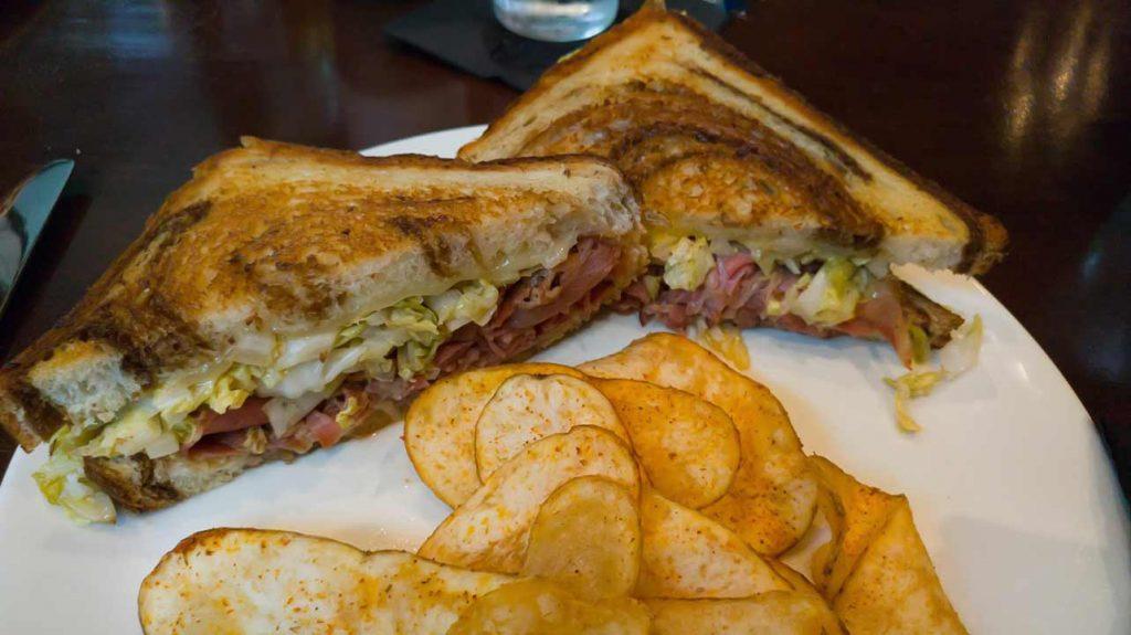 Pastrami sandwich at Pogo's Kitchen